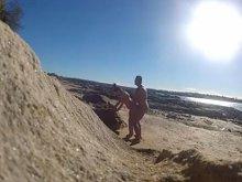 Imagen Sexo en público en la playa nudista