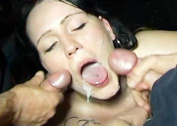 Imagen Busca esperma que saborear con un bukkake en un glory hole