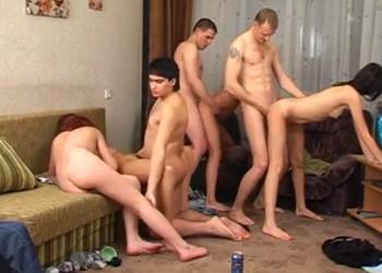 Imagen El alcohol convirtió la fiesta en una bestial orgía casera