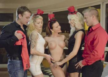 Imagen La fiesta se les fue de las manos y terminó en orgía