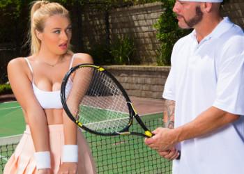 Imagen Natalia Starr seduce al profesor de tenis hasta follárselo