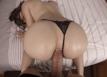 Imagen Su culo amateur aguanta una brutal follada anal casera